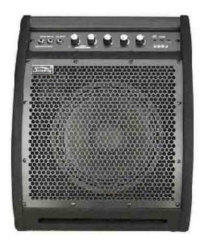 Amplificador Para Bateria Electronica Parquer 50w Ds50 Cuota