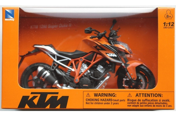 Moto Ktm 1290 Super Duke R Escala 1:12 New Ray Colección