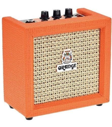Amplificador Orange Crush Mini De 3w Para Guitarra Y Ukelele