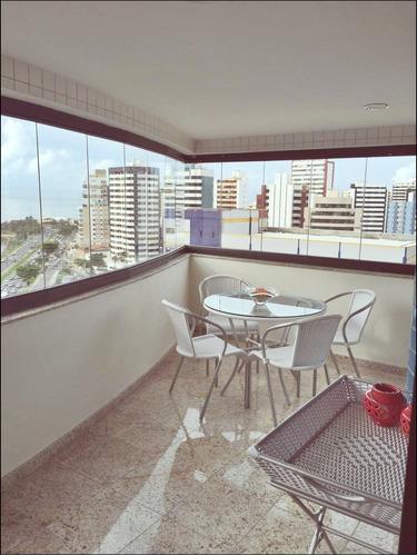 Imagem 1 de 14 de Apartamento 4 Suítes, 244 M2, Infraestrutura De Lazer