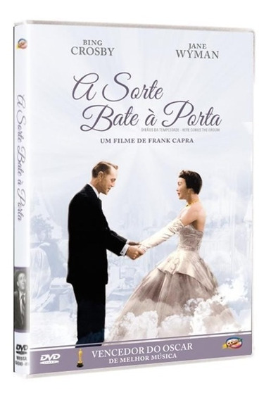 A Sorte Bate À Porta - Dvd - Bing Crosby - Jane Wyman