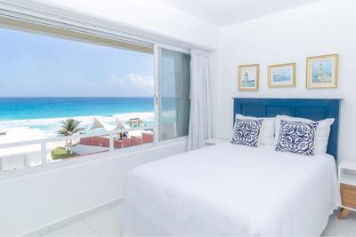 Penthouse Frente Al Mar Para 8 Pax, Alberca Y Playa