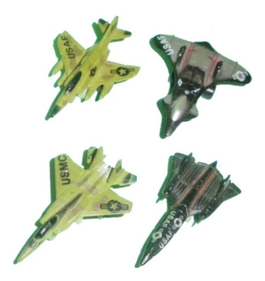 Lote Aviones Micromachines 16 Modelos Palermo Z Norte