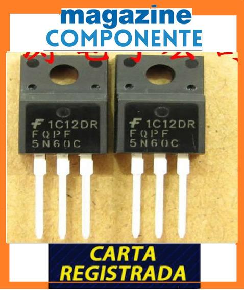 Transistor Fqpf5n60c - 5n60c - 5n60 C - 600v 4.5a - Original