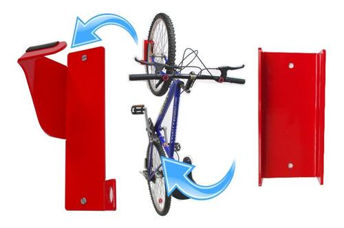 Soporte Pared Para Colgar Bicicletas No Mancha La Pared :)