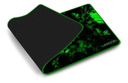 Imagem 1 de 2 de Mouse Pad Verde Para Teclado E Mouse Warrior Gamer 30x70 Cm