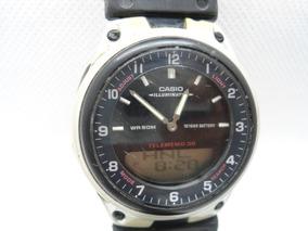 Relógio Casio Iluminado Usado Com Bom Funcionamento