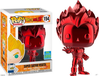 Funko Pop! Super Saiyan Vegeta - Dragon Ball Z Red Chrome