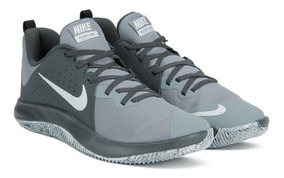 Tênis Nike Fly.by Low Cinza E Preto Original - Footletr