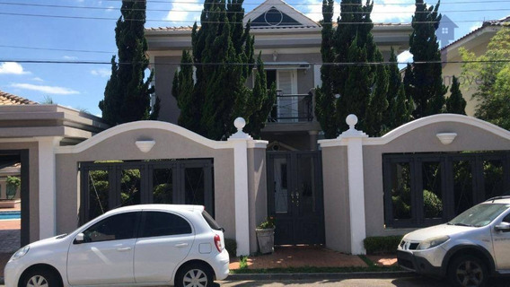 Casa/sobrado 4 Suítes À Venda, 600m², Residencial Mirante Do Ipanema Em Sorocaba/sp - So0424