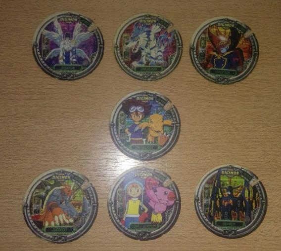 Super Mega Tazos Volador Digimon 2001 Gigantes