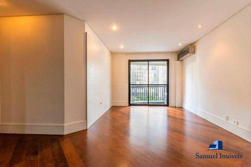 Imagem 1 de 22 de Apartamento Com 3 Dormitórios Para Alugar, 90 M² Por R$ 6.000,00/mês - Itaim Bibi - São Paulo/sp - Ap4135