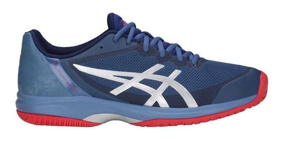 Tênis Asics Gel Court Speed Azul - Quadra Rápida