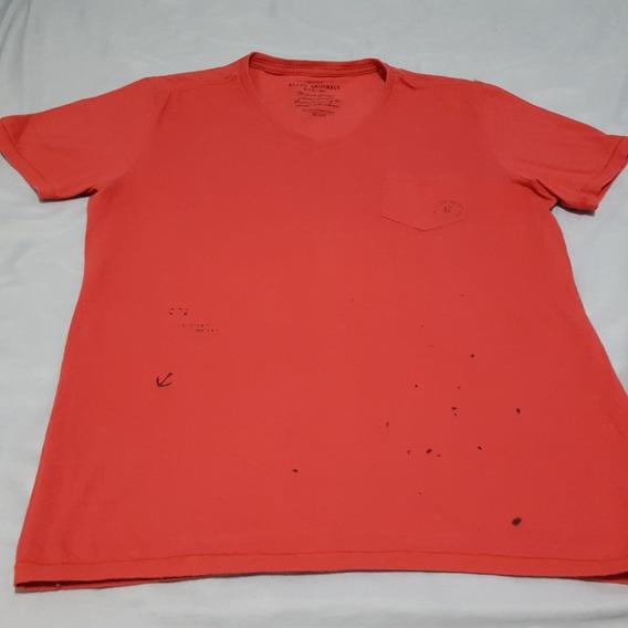 Camiseta Ellus Vermelho/terracota Básica P Ótimo Estado Excelente Custo-benefício Usada
