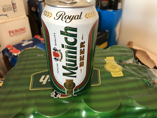 Cerveza Munich Importada De Paraguay X 12 U.