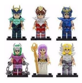 Lego Compatible Caballeros Zodiaco Armadura Bronce Athena