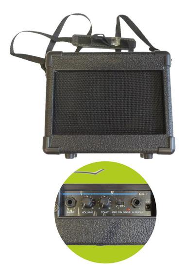 Amplificador Guitarra Parquer Ga-1 5w Portatil Distorsion