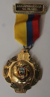 Medalla Comision De Transito De La Provincia Del Guayas