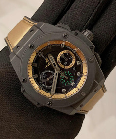Hublot King Power Usain Bolt , 48mm , S.limitada , Na Caixa!