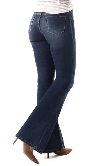 Calça Jeans Feminina Flare Sawary - 259913