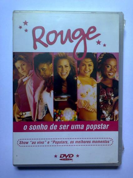 Dvd Rouge - O Sonho De Ser Uma Popstar - Lacrado - 1a. Tirag