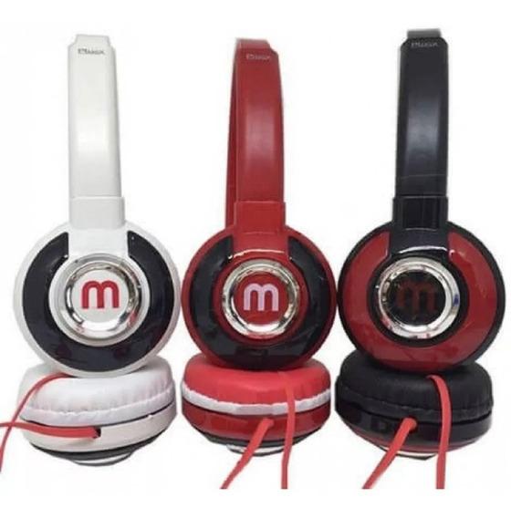 Fone Ouvido Headphone Stereo Mex Altomex 521 Celular Radio