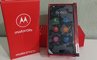 Smartphone Moto Z2 Play, Tela 5,5 Octa-core 2.2 Ghz 64gb