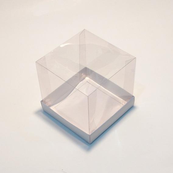 100 Caixas Acetato 10x10x10 Cm Para Artesanatos E Caneca