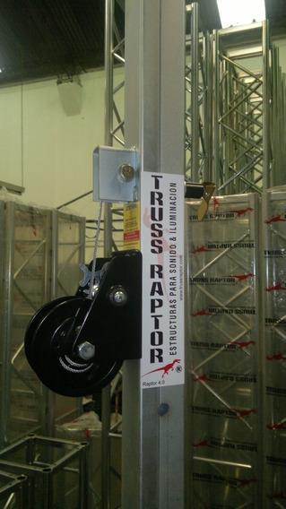 Tripode Telescopico 4mts 120kg, Malacate,geni