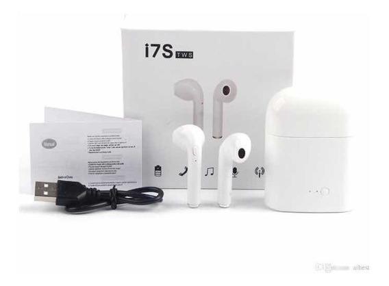 5 Fone Ouvido Bluetooth I7s
