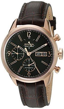 Relógio Bulova Accutron 64c106 Gemini Automático Original
