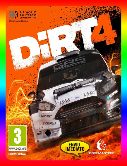 Dirt 4 Pc - Steam Key (envio Já)