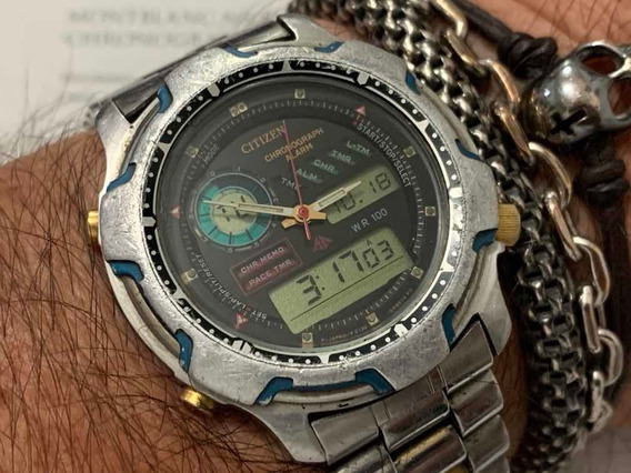 Citizen C130 Chronograph Alarm Japan Vintage