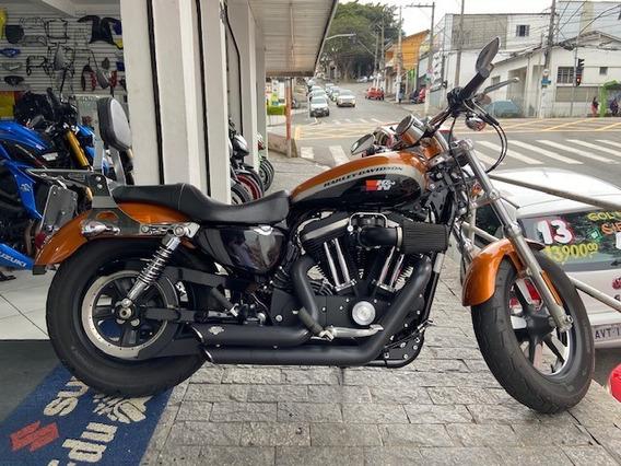 Harley-davidson Xl 1200 Ca 2015 Estado De Zero!