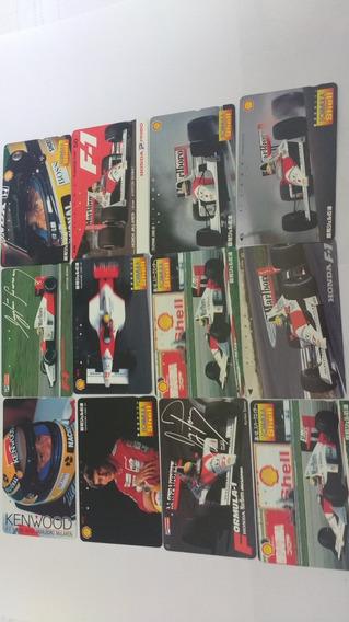 Coleção Rara 43 Cartões Do Ayrton Senna - Internacionais