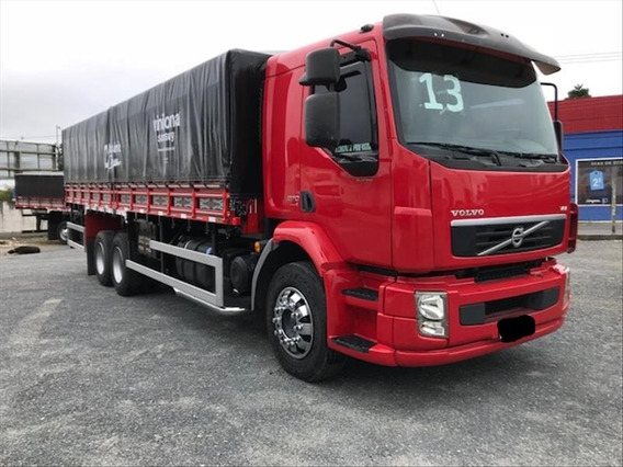 Volvo Vm 270 Ano 2013 Truck 6x2 C/carroceria