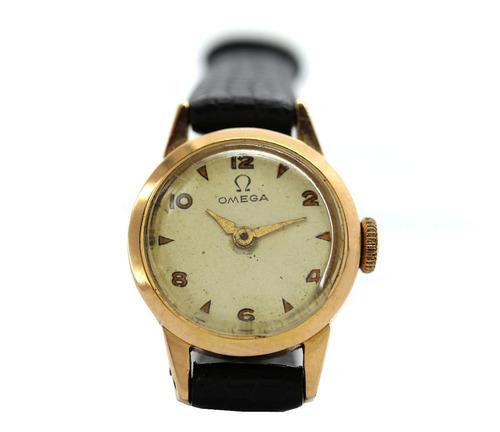 Relógio Omega Feminino Ouro 18k Calibre 240 Ano 1926  J22265