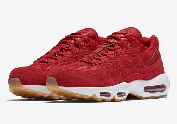 Tenis Nike Air Max 95 - Premium Red