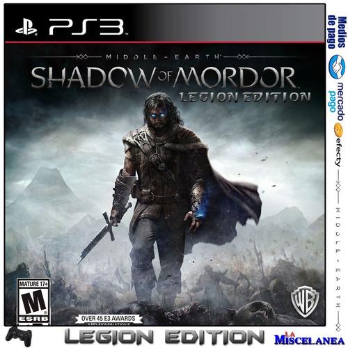 Shadow Of Mordor Ps3 Digital