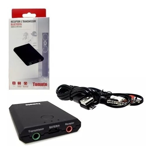 Transmissor E Receptor Bluetooth 4.0 Wireless P2 Tv Pc Unive