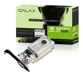 Placa De Video Galax Geforce Gt 1030 2gb Exoc White Ddr5 64