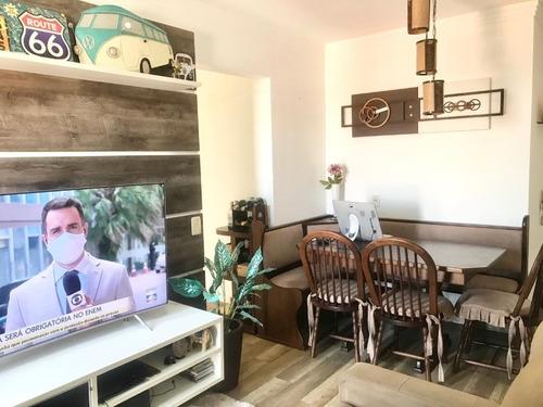 Apartamento Semi Mobiliado À Venda No Varanda Ville Residencial Club Em Sorocaba - Sp - 2767 - 68343035