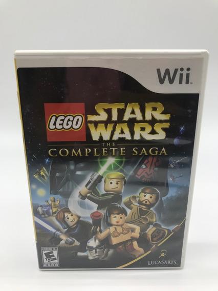 Lego Star Wars Complete Saga Wii Original Americano Cib