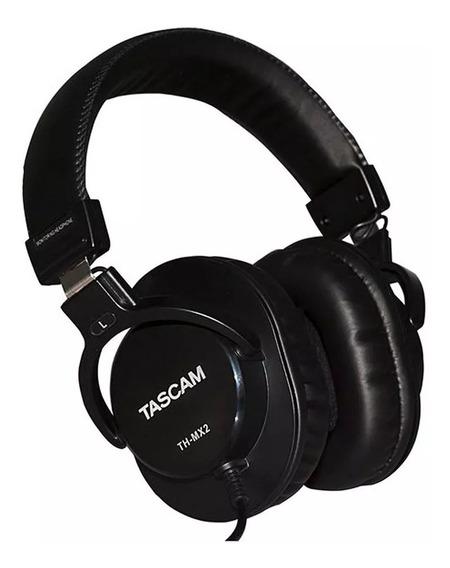 Fone Ouvido Tascam Th-mx2 Mixing Headphones Studio Promoção!
