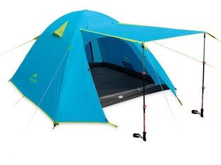 Carpa 4 Personas Costuras Selladas Camping Trekk Reforzada