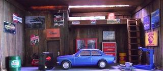 Diorama Oficina Chevrolet Chevette