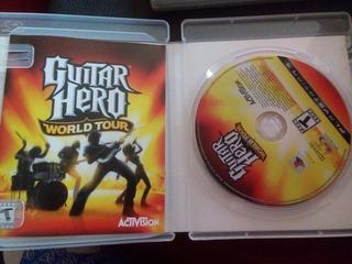 Guitar Hero World Tour Ps3 Playstation 3
