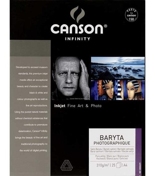 Papel Fotográfico Canson Baryta Photographique A2 310g