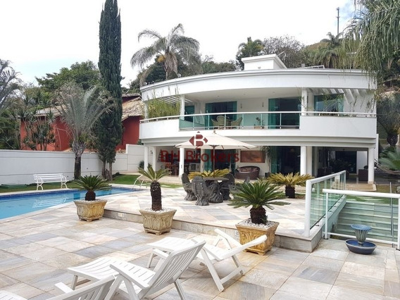 Maravilhosa Casa 4 Suítes E 8 Vagas De Garagem Em Nova Lima! - 7480