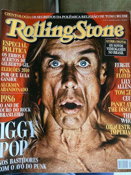 Revista Rolling Stone Nr 02 - Capa Iggy Pop
